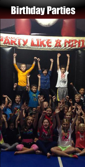Birthday Parties - Karate Style!